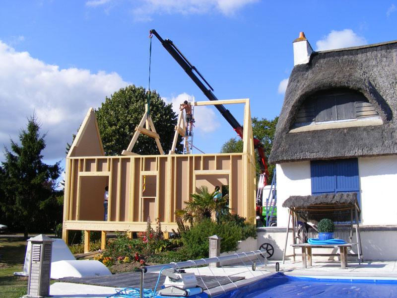 Ruka bois Confort, Respect de l'environnement, Investissement durable en choisissant de  # Construction Maison Bois Bretagne