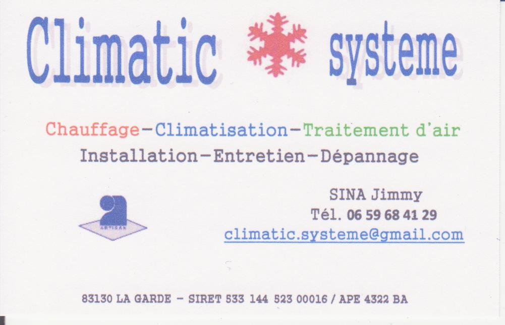Climatic systeme