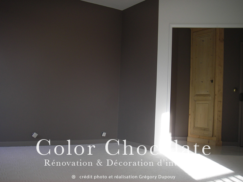 color chocolate l quipe d artisan pl trier peintre. Black Bedroom Furniture Sets. Home Design Ideas