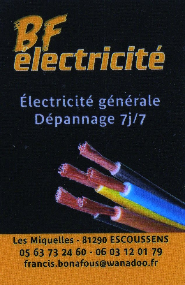 SAS BF electricite +SUD EQUIPEMENT